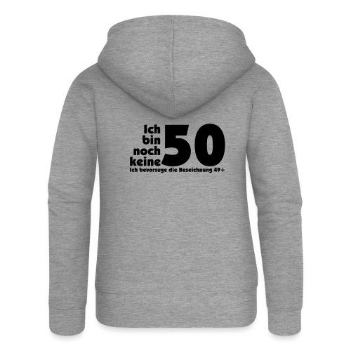 50 Jahre alt/jung - Frauen Premium Kapuzenjacke