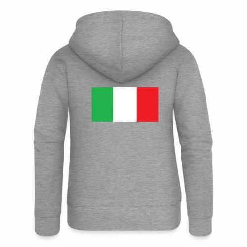 Italien Fußball - Frauen Premium Kapuzenjacke