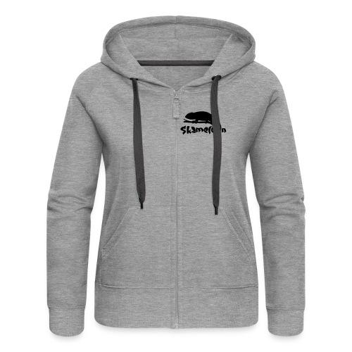 logoskameleon - Frauen Premium Kapuzenjacke