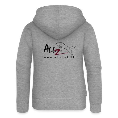 All Zet Logo - Dame Premium hættejakke