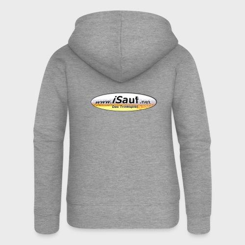 iSauf Logo - Frauen Premium Kapuzenjacke