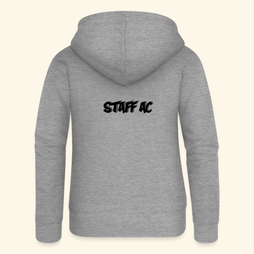 staffacbk - Felpa con zip premium da donna