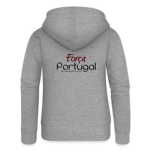 Força Portugal - Veste à capuche Premium Femme