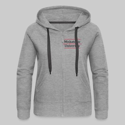Miskatonic University - Frauen Premium Kapuzenjacke