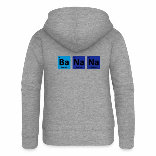Periodic Table: BaNaNa - Women's Premium Hooded Jacket