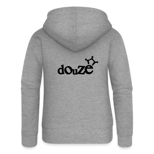 logo_douze - Veste à capuche Premium Femme