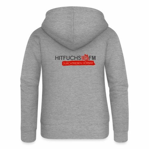 HitFuchs logo + slogan - Women's Premium Hooded Jacket