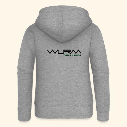 WLRM Schriftzug black png - Frauen Premium Kapuzenjacke