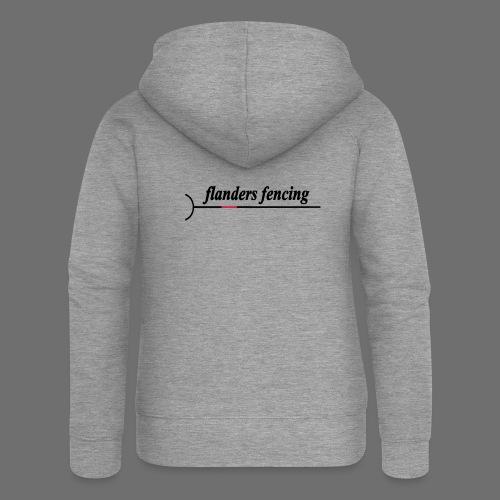 Flanders Fencing - Vrouwenjack met capuchon Premium