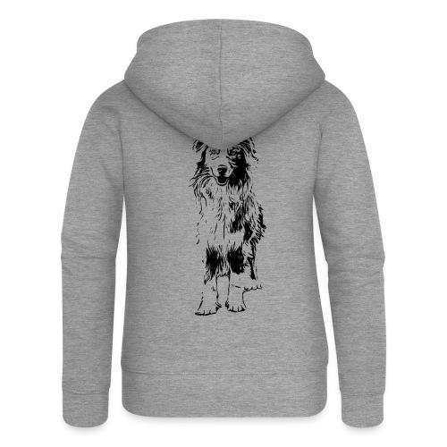 Aussie Australian Shepherd Design Hunde Geschenk - Frauen Premium Kapuzenjacke