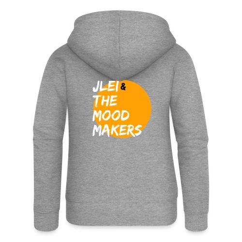 Jlei & The Mood Makers Bandlogo - Frauen Premium Kapuzenjacke