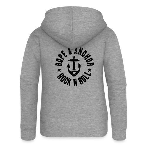 Hope & Anchor - Rock´n´Roll - Frauen Premium Kapuzenjacke
