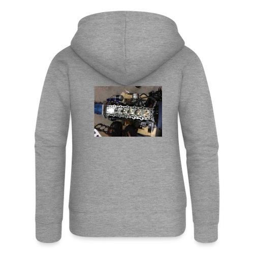 Motor tröja - Premium luvjacka dam