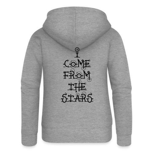 I Come From The Stars - Women's Premium Hooded Jacket