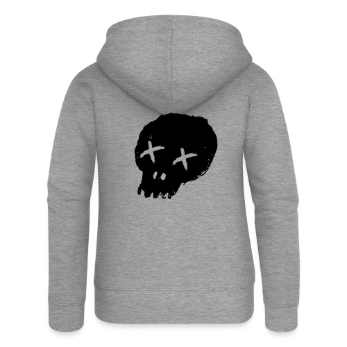 blackskulllogo png - Women's Premium Hooded Jacket