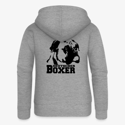 Deutscher Boxer - Frauen Premium Kapuzenjacke