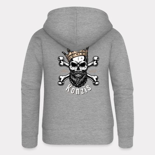 Skull Bones Logo - Frauen Premium Kapuzenjacke