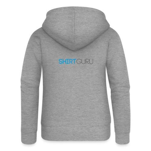 SHIRTGURU - Frauen Premium Kapuzenjacke
