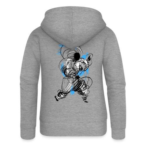 Kung Fu wizard - Women's Premium Hooded Jacket
