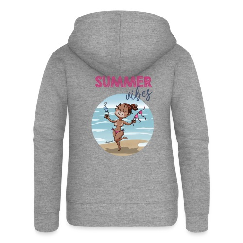 SUMMER vibes - Chaqueta con capucha premium mujer