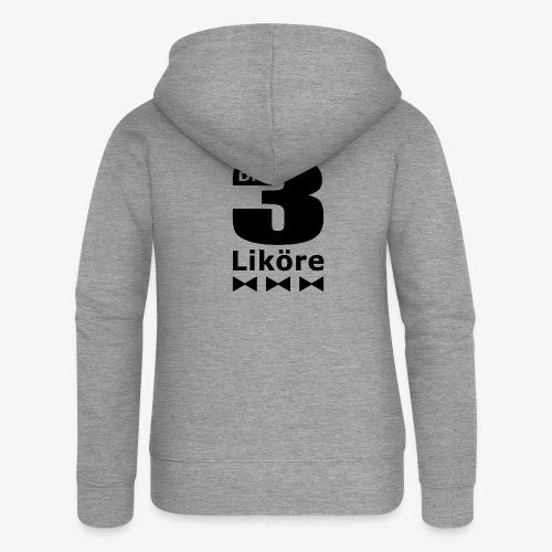 Die 3 Liköre - Kids logo schwarz - Frauen Premium Kapuzenjacke