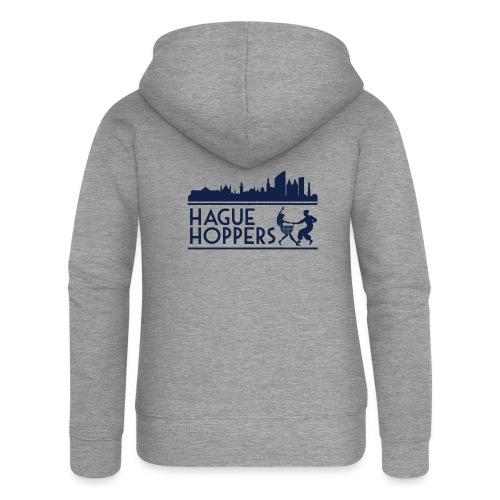 Hague Hoppers logo blue - Vrouwenjack met capuchon Premium