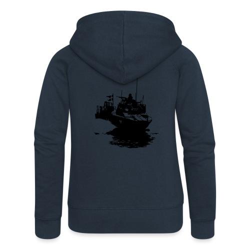 Combat Boat 90 - Stridsbåt 90 - Premium luvjacka dam