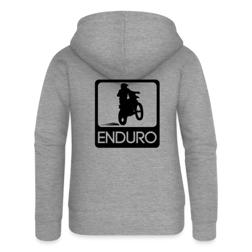 Enduro Rider - Frauen Premium Kapuzenjacke