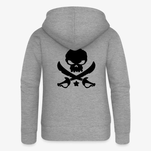 Pirate Destroy - Veste à capuche Premium Femme