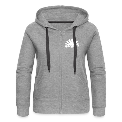 Rise Above - Women's Premium Hooded Jacket