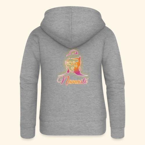 Buddha - Namasté - Frauen Premium Kapuzenjacke