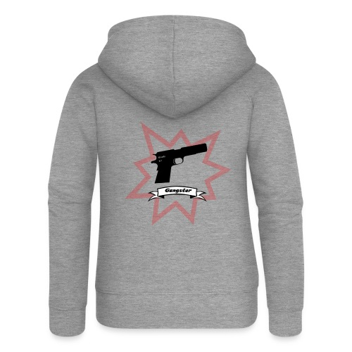 Gun with boom! - Women's Premium Hooded Jacket