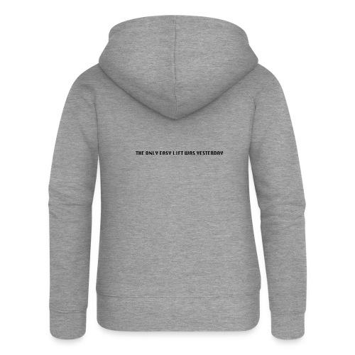170106 LMY t shirt hinten png - Frauen Premium Kapuzenjacke