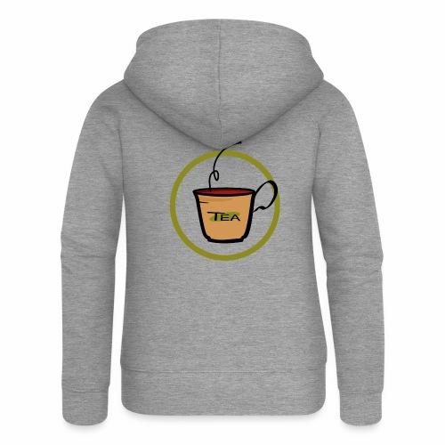 Teeemblem - Frauen Premium Kapuzenjacke