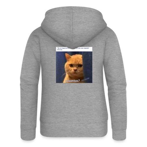 Cat nalgadas - Chaqueta con capucha premium mujer