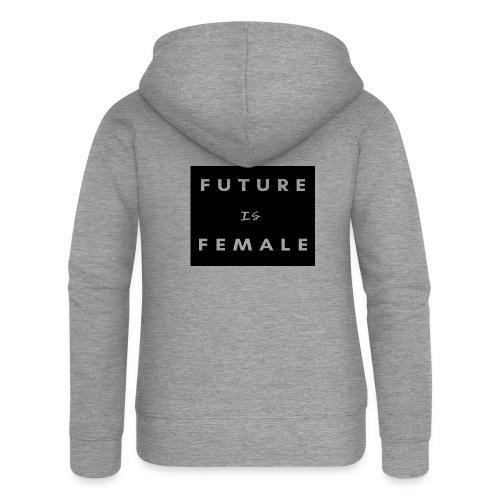 FUTURO ES MUJER - Chaqueta con capucha premium mujer