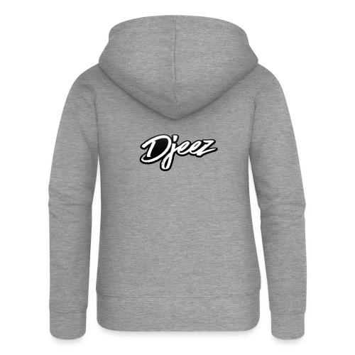 djeez_official_kleding - Vrouwenjack met capuchon Premium