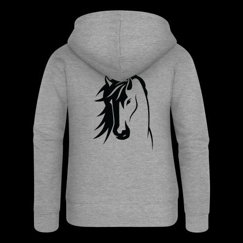 Stallion - Women's Premium Hooded Jacket