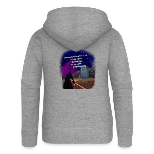 Bad Parking - Women's Premium Hooded Jacket