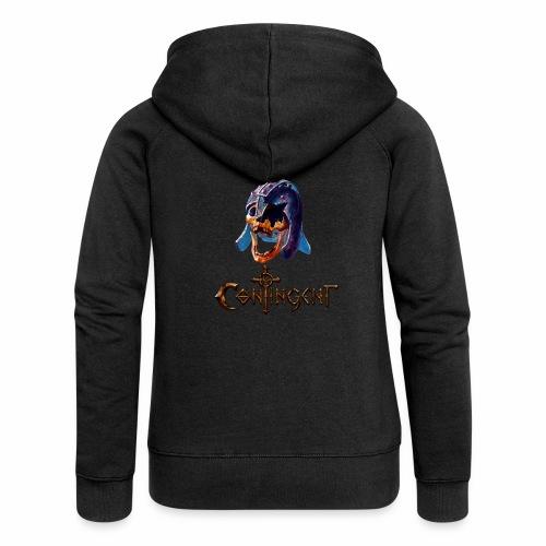 Contignent Logo - Women's Premium Hooded Jacket