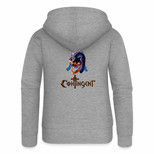 Contignent Logo - Women's Premium Hooded Jacket