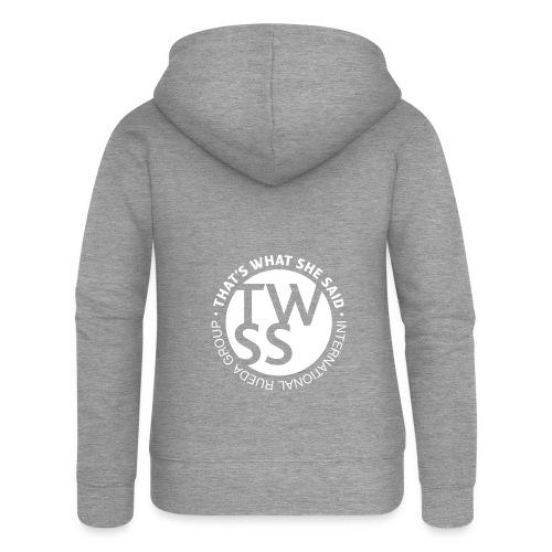 TWSS logo - That's What She Said - International - Frauen Premium Kapuzenjacke
