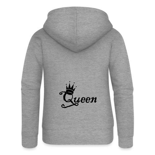 Queen (Parejas l) - Chaqueta con capucha premium mujer