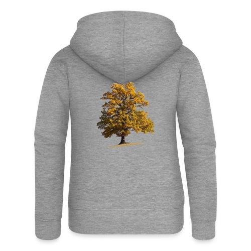 Herbst Herbstlaub Herbstbaum autumn - Frauen Premium Kapuzenjacke