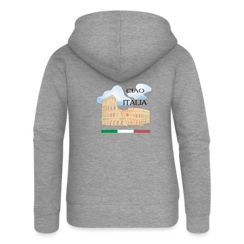 hello italy T-Shirts - Women's Premium Hooded Jacket