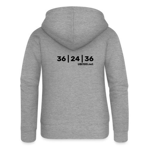 36   24   36 - UBI - Women's Premium Hooded Jacket