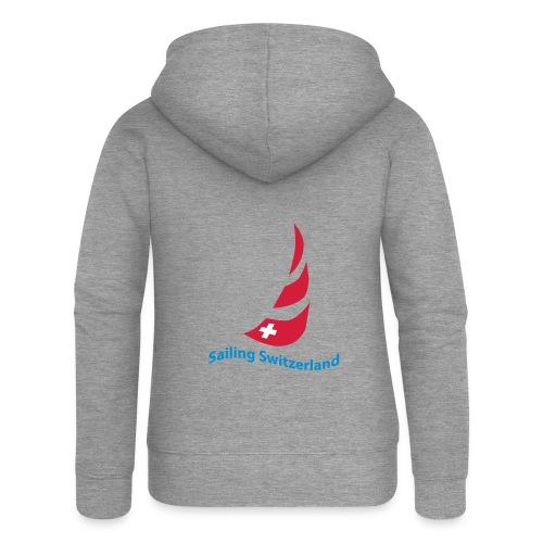 logo sailing switzerland - Frauen Premium Kapuzenjacke