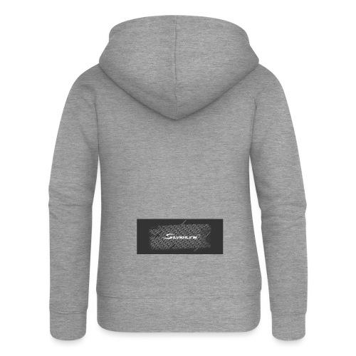 Silverline Muster - Frauen Premium Kapuzenjacke