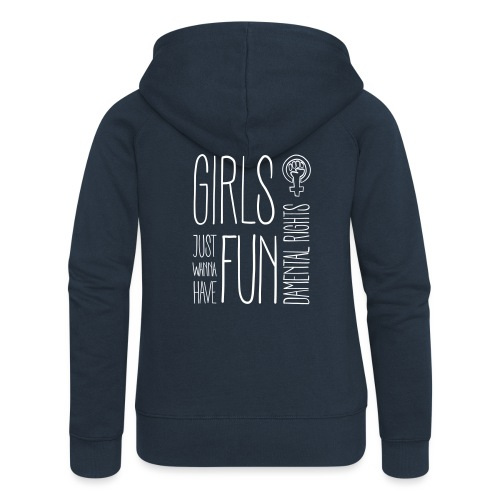 Girls just wanna have fundamental rights - Frauen Premium Kapuzenjacke