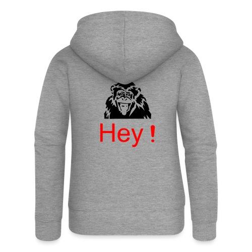 hey! monkey - Veste à capuche Premium Femme